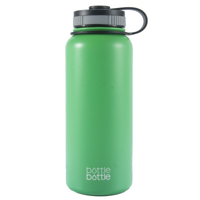 32oz Wide Mouth Double Wall Vacuum Stainless Steel Water Flask ,Spring Mint Green