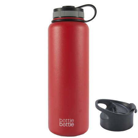 40oz Wide Mouth Double Wall Vacuum Stainless Steel Water Flask ,Wisteria Purple