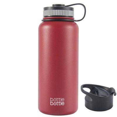 32oz Wide Mouth Double Wall Vacuum Stainless Steel Water Flask ,Wisteria Purple