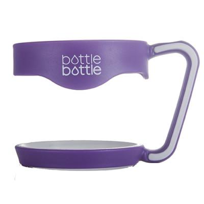 30 OZ Tumbler Handle - Purple & White