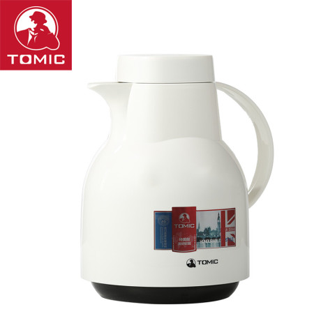 Double walled Coffee Pot Snow White