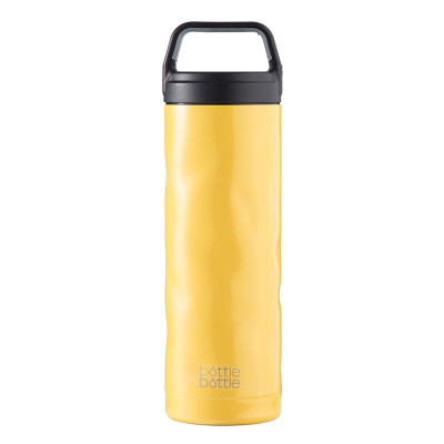 18oz Crash Bottle - Mustard Yellow