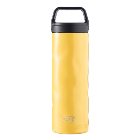18oz Crash Bottle - Mustard Yellow