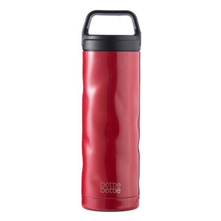 18oz Crash Bottle -  Fire Red