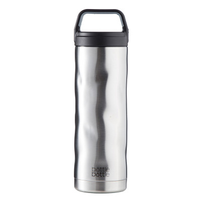 18oz Crash Bottle - Simple Stainless
