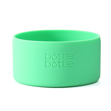 Bottlebottle Protective Silicone Sleeve Bottom Cover for Hydro Flask, Medium, Greenery