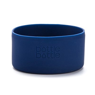 Bottlebottle Protective Silicone Sleeve Bottom Cover for Hydro Flask, Medium, Galaxy Blue