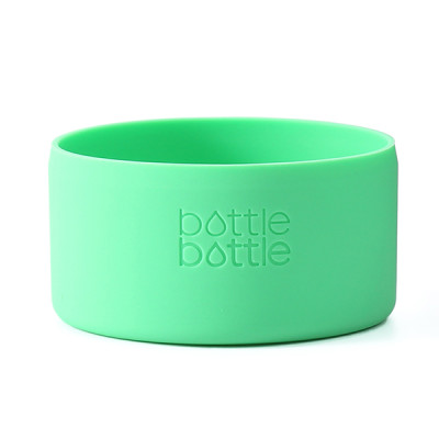Bottlebottle Protective Silicone Sleeve Bottom Cover for Hydro Flask, Large, Greenery