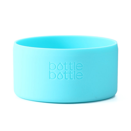 Bottlebottle Protective Silicone Sleeve Bottom Cover for Hydro Flask, Large, Sky Blue