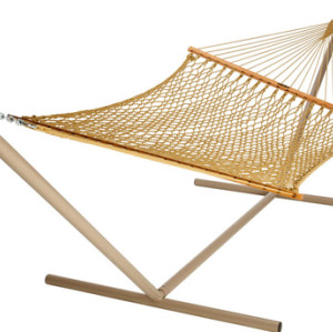 Large Original Oatmeal DuraCord Rope Hammock