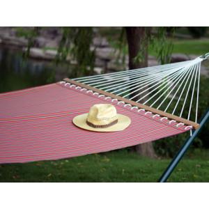Outdoor stripe fabric hammock