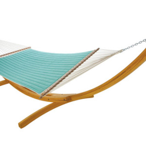 Quilted Hammock - Canvas Glacier by Hatteras Hammocks