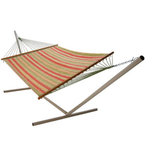 Quilted Hammock- Tulsa Tomato by Castaway