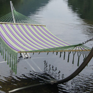Lace stripe Fabric Hammock