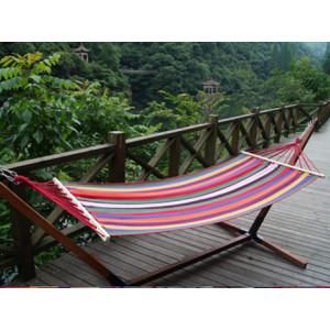 Colorful Stripe Fabric Hammock