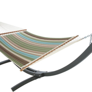 Quilted Hammock-Coastland Stripe by Hatteras Hammocks