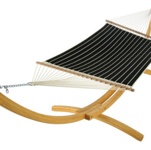 Quilted Hammock-Classic Black Stripe by Hatteras Hammocks
