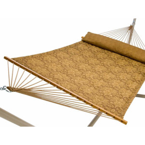 Carmel Wheat Quilted Hammock by Captains Line