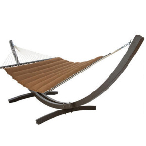 Pillowtop Hammock-Canvas Teak by Designed for Outdoors