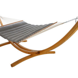 Pillowtop Hammock-Charcoal Gray by Hatteras Hammocks
