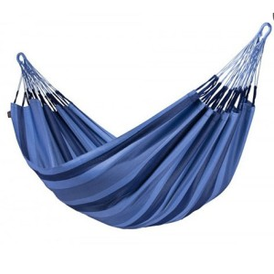 Outdoor Portable Double 2 Person Cotton Polyester Camping Hammocks with Fabric Carry Bag