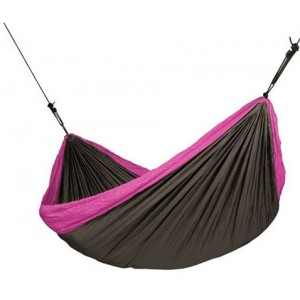 Outdoor Lightweight Nylon Portable Double Camping Parachute Hammock with Carry Bag
