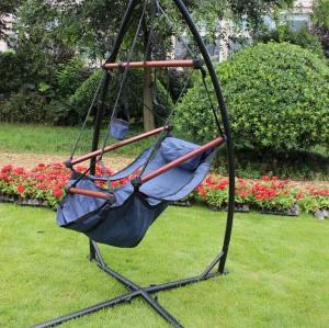 Hanging Hammock Chair X Frame Steel Stand For Hammock Swing Chair Indoor Outdoor