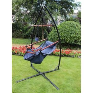 Hanging Hammock Chair X Frame Steel Stand For Hammock Swing Chair Indoor Outdoor