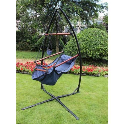 hanging hammock chair x frame steel stand for hammock swing chair indoor outdoor hanging hammock chair x frame steel stand for hammock swing chair      rh   hammocks   cn