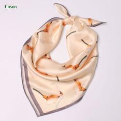 Custom Design Silk Hijab Scarf/Printed Head Square Scarf/Excellent Quality Satin Hankerchief