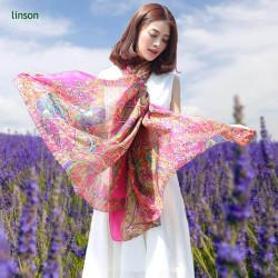 90x90cm Silk Square Scarf Women Fashion Style High Quality 100% Silk
