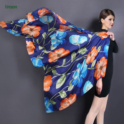 China Manufacturer No MOQ Custom Digital Print Silk Scarf