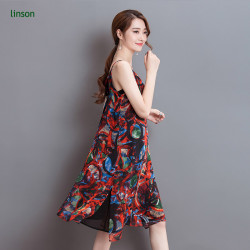 Fabric Manufacturer Supplies New Design Printed Silk Skirt Fabric