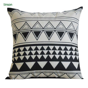 Custom Design Digital Print 100% Cotton Canvas Cushion Covers