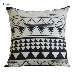 Custom Design Digital Print 100% Cotton Canvas Cushion Covers