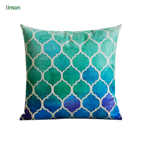Geometry Pattern Printed 2 Sides Cushion Covers Wholesale Cheap Price