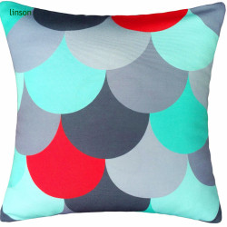 100% Cotton Twill Custom Size Printed Cushion Covers