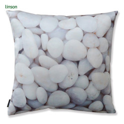 Custom Cobble Design Printed Vivid Style Cushion Cover