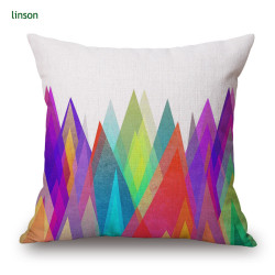 Cushion Cover Manufacturer Supplies 26*26 Inch Multicolored Cushion Cover For Sofa