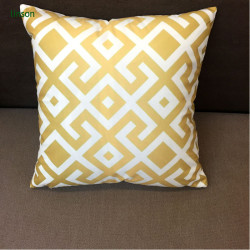 Simple Design Natural Cotton Canvas Cushion Cover Plain Style Cushion Cover