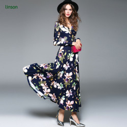 Wholesale High Quality Custom Floral Design Printed Polyester Spandex Dress Fabric