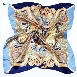 Custom Printed Polyester Satin Scarves