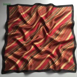 Small square best selling silk satin scarf