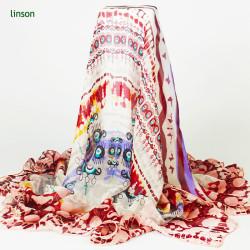 2017 Dubai Women's Long Fashion Soft Chiffon Silk Shawl Scarves