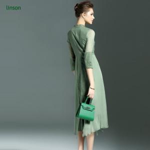 Green dyeing wholesale silk fabric vietnam dress fabric