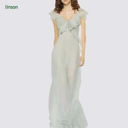 2017 custom dyeing high quality silk fabric for wedding dress