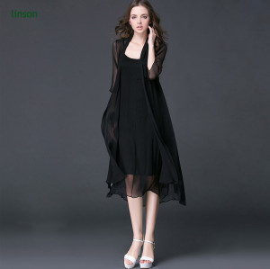 Ladies dress fabric factory direct custome design solid color silk fabric