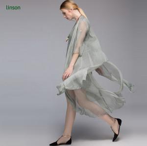 Factory direct custome design solid color silk chiffon dress fabric