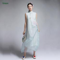 China wholesale custom digital printed pure silk chiffon fabric