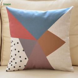 Wholesale High Quality Cheap Price Digital Printed Plain Cotton Linen Cushion Cover